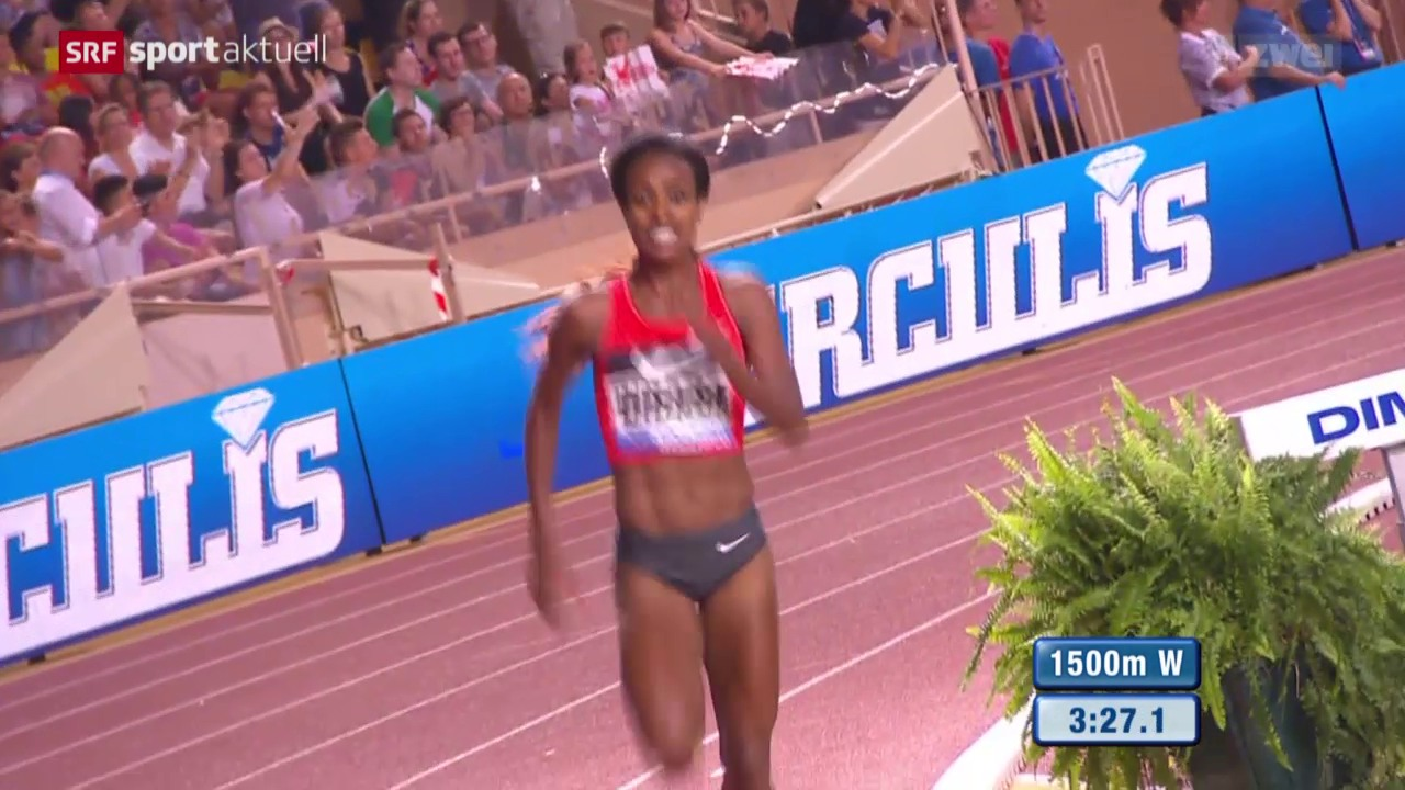 Leichtathletik: Diamond-League-Meeting Monaco, 1500 m Frauen