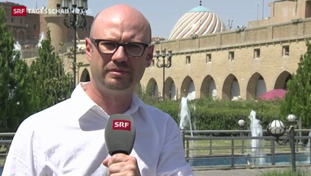 Video «Einschätzungen von SRF-Korrespondent Pascal Weber» abspielen