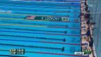 Video «Ledecky schwimmt zum Weltrekord» abspielen