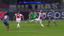 Link öffnet eine Lightbox. Video Spektakel-Remis zwischen Ajax und den Bayern abspielen