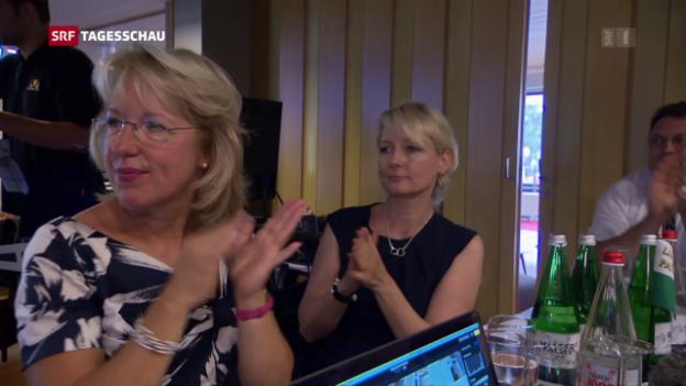 Video «Jacqueline de Quattro will Bundesrätin werden» abspielen
