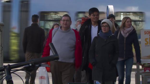 Video ««Wir zeigen das Zürich eines Obdachlosen»» abspielen