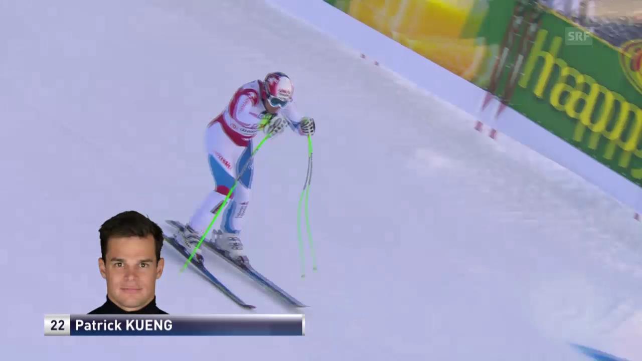 Ski Alpin: Die Fahrt von Patrick Küng