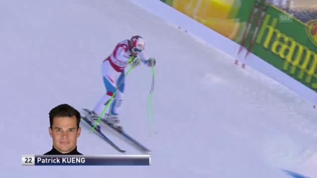 Video «Ski Alpin: Die Fahrt von Patrick Küng» abspielen