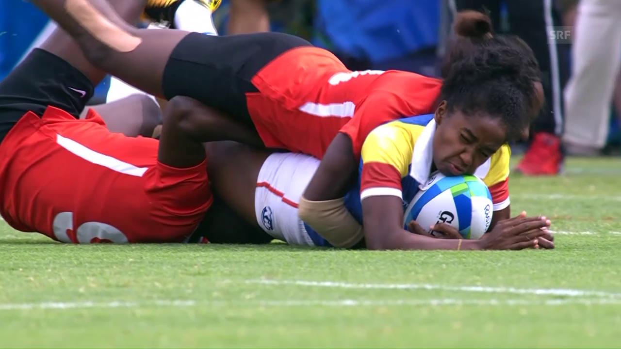 Harte Bandagen: Tacklings im Frauen-Rugby