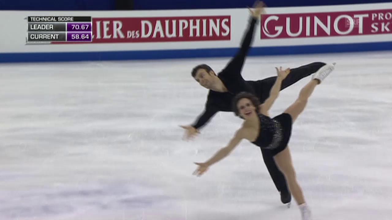 Eiskunstlaufen: WM 2015, Paarlauf, Kür Duhamel/Radford