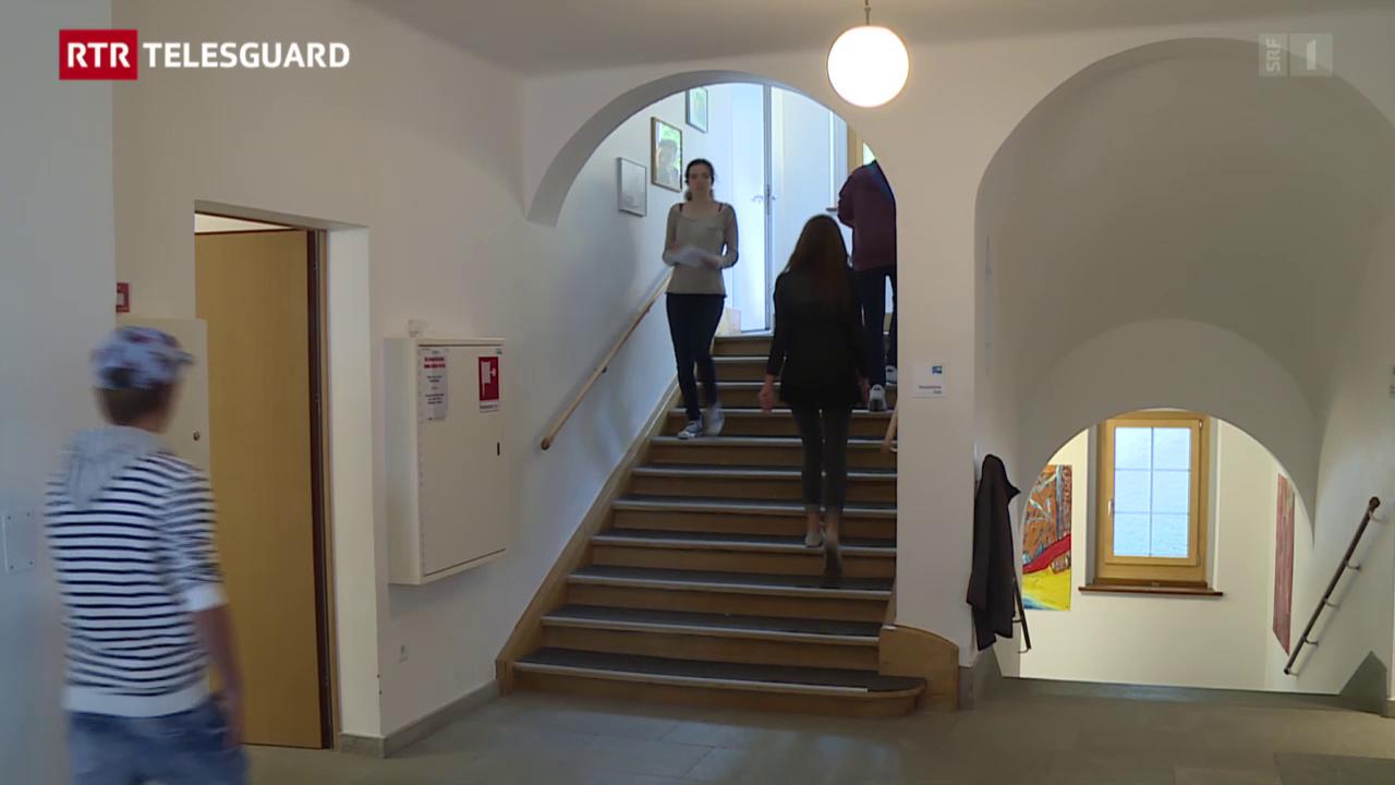 La scola ha era cumenzà en l'Institut Otalpin a Ftan