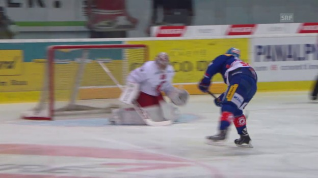 Video «Eishockey: Paraden Cristobal Huet» abspielen