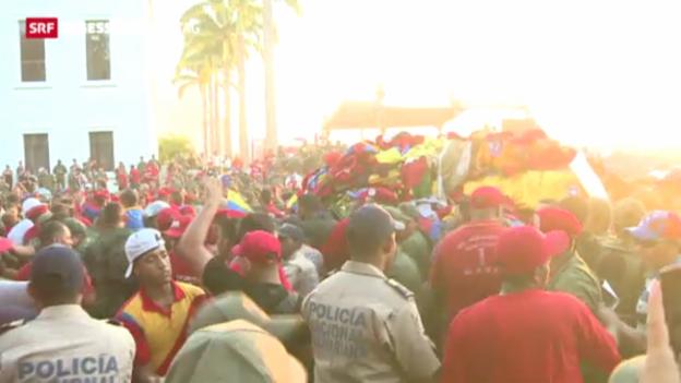 Video «Abschied von Präsident Hugo Chávez» abspielen