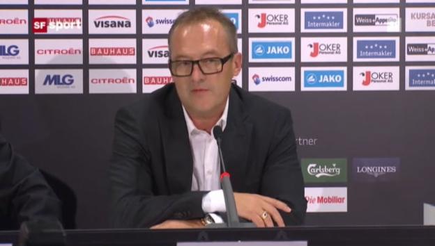 Video «Fredy Bickel neuer YB-Sportchef» abspielen