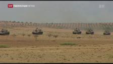 Video «Türkisches Militär zieht sich zurück» abspielen