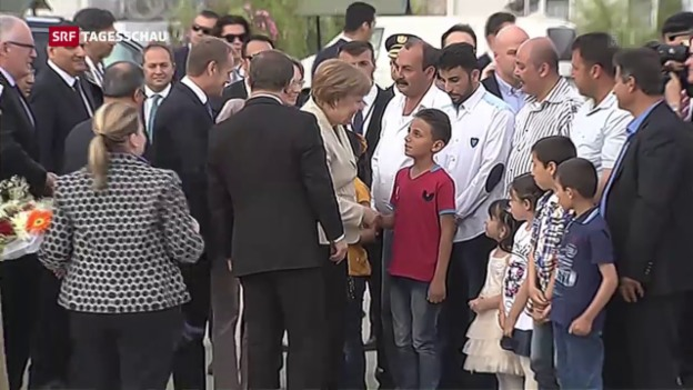 Video «Merkel in der Türkei» abspielen