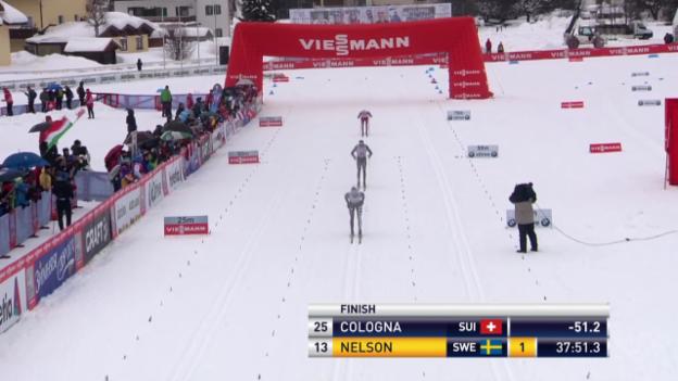 Video «Langlauf: Weltcup in Toblach («sportlive», 01.02.2014)» abspielen