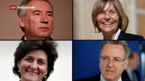Video «Französische Regierung verliert innert 3 Tagen 4 Minister» abspielen