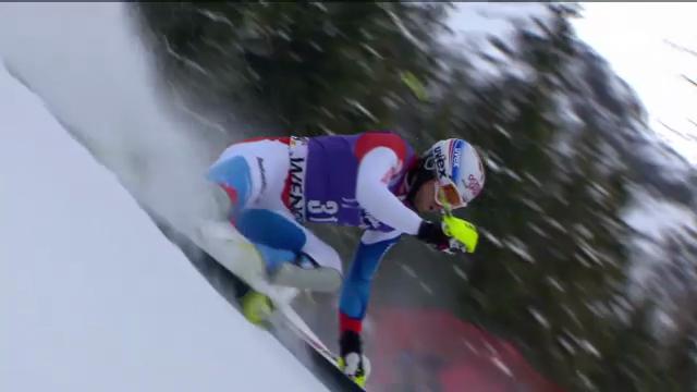 Ski alpin: 2. Slalomlauf von Gini in Wengen