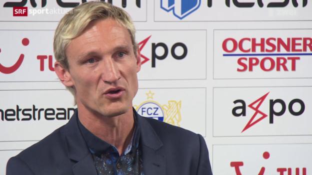 Video «Fussball: Sami Hyypiä neuer FCZ-Trainer» abspielen