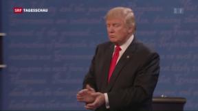 Video «Zwischen Trump und Clinton geht's noch niveauloser» abspielen
