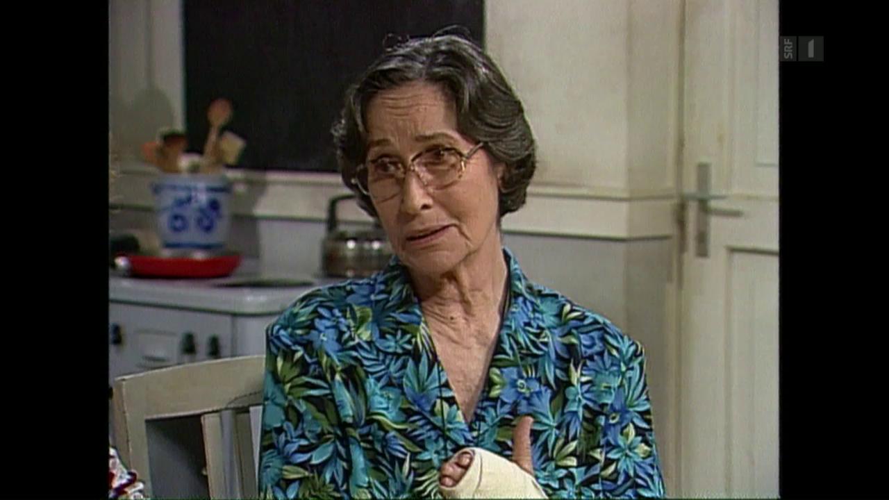 Trudi Roth: «Tante Martha» ist gestorben