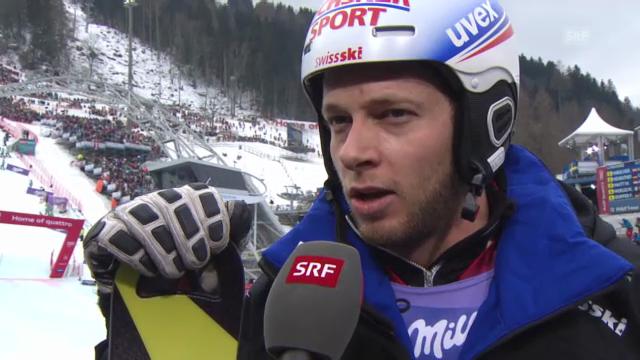 WM-Slalom: Interviews mit Gini und Vogel