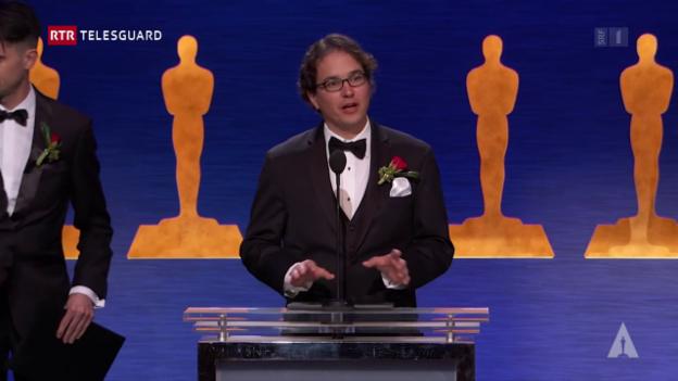 Laschar ir video «Thabo Beeler ha gudagnà in Oscar»