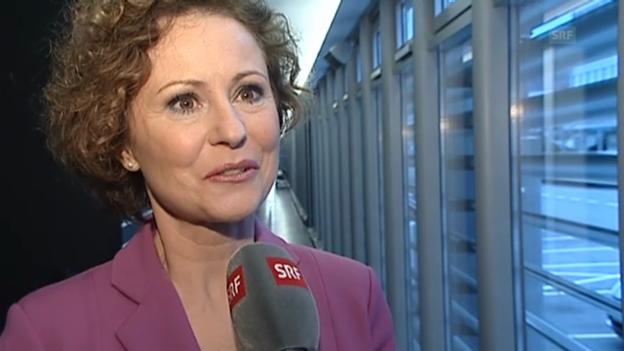 Video «Beatrice Müller über ihren Weggang von der «Tagesschau»» abspielen