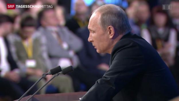 Video «Putin gibt Jahrespressekonferenz» abspielen
