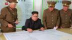 Video «Leichte Entspannung im Nordkorea-Konflikt» abspielen