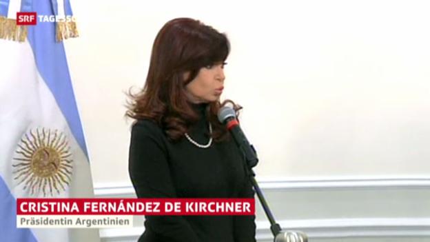 Video «Papst trifft Kirchner» abspielen