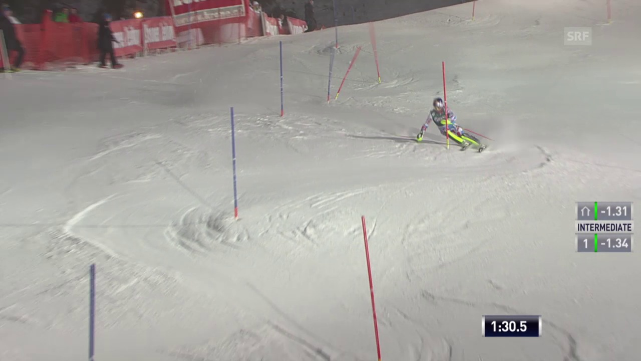 Ski alpin: Super-Kombi in Kitzbühel, Slalom-Lauf von Alexis Pinturault