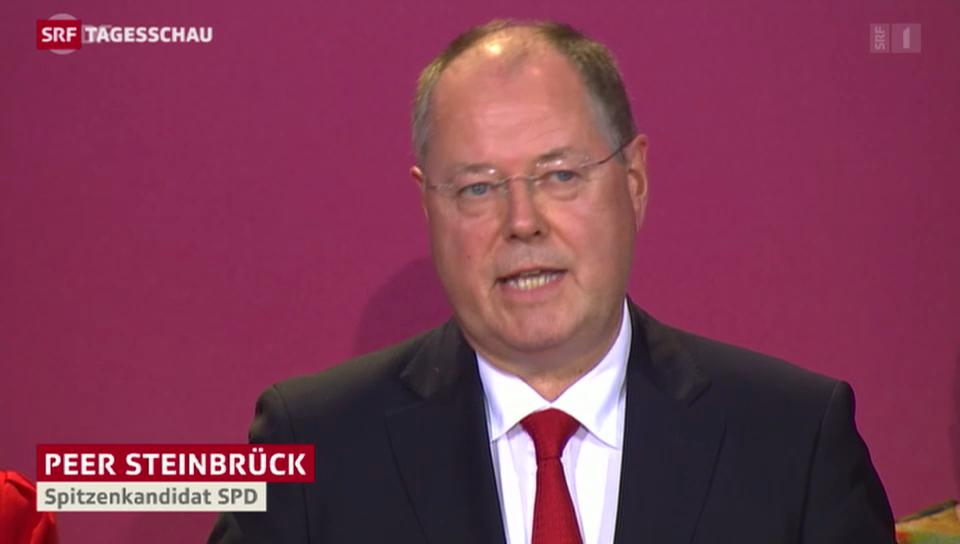 Steinbrück: «Ball liegt bei Frau Merkel»