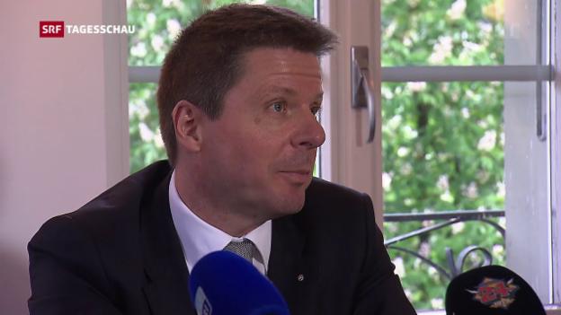 Video «GLP-Präsident Martin Bäumle geht» abspielen