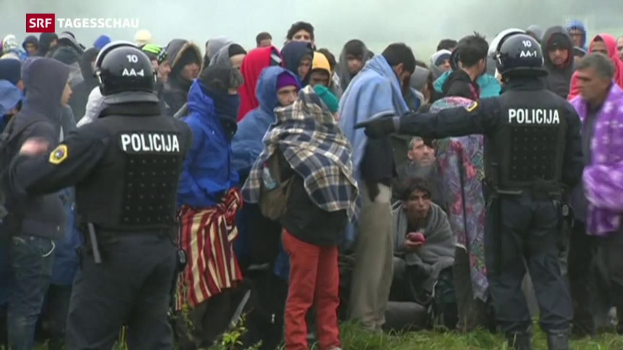 Slowenien ist überfordert