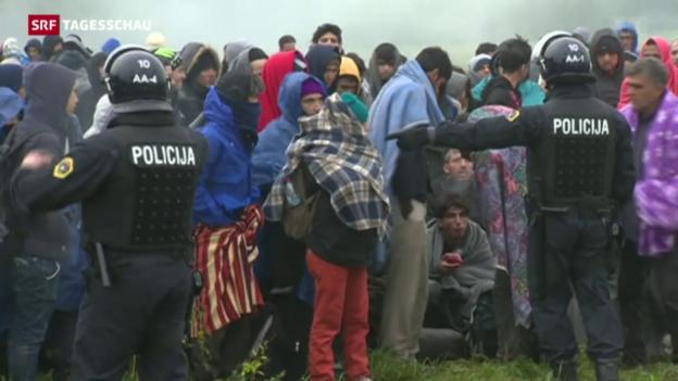 Video «Slowenien ist überfordert» abspielen