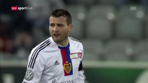 Video «Cup: Thun - Basel» abspielen