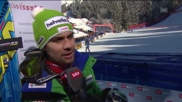 Video «Ski alpin: Interview mit Sandro Viletta» abspielen