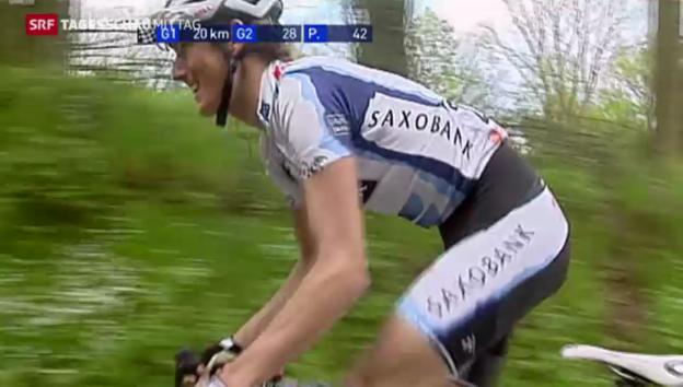 Video «Radprofi Andy Schleck beendet seine Karriere» abspielen