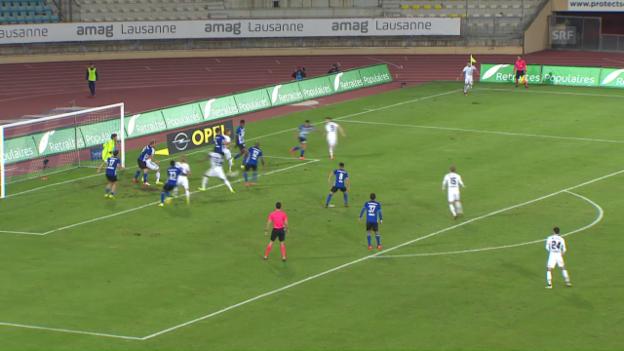 Video «Basel dank Balanta zum späten Sieg» abspielen