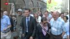 Video «Erster Westschweizer Kontrahent für Ignazio Cassis» abspielen