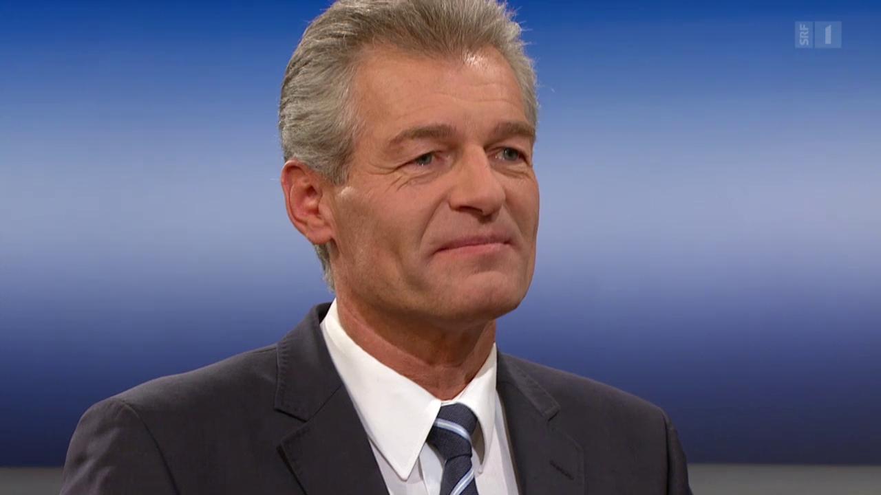 Theke: Heinz Karrer
