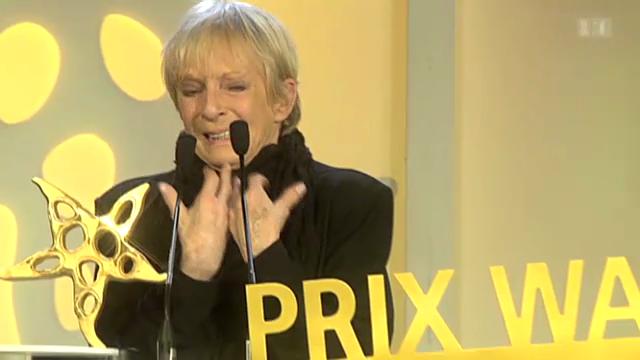 Emotionaler Moment für Ursula Schaeppi