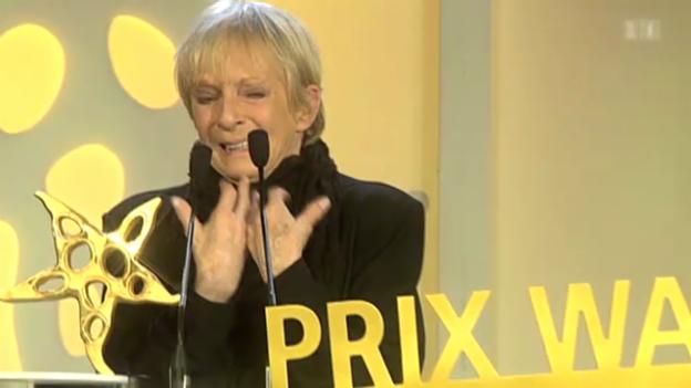 Video «Emotionaler Moment für Ursula Schaeppi» abspielen