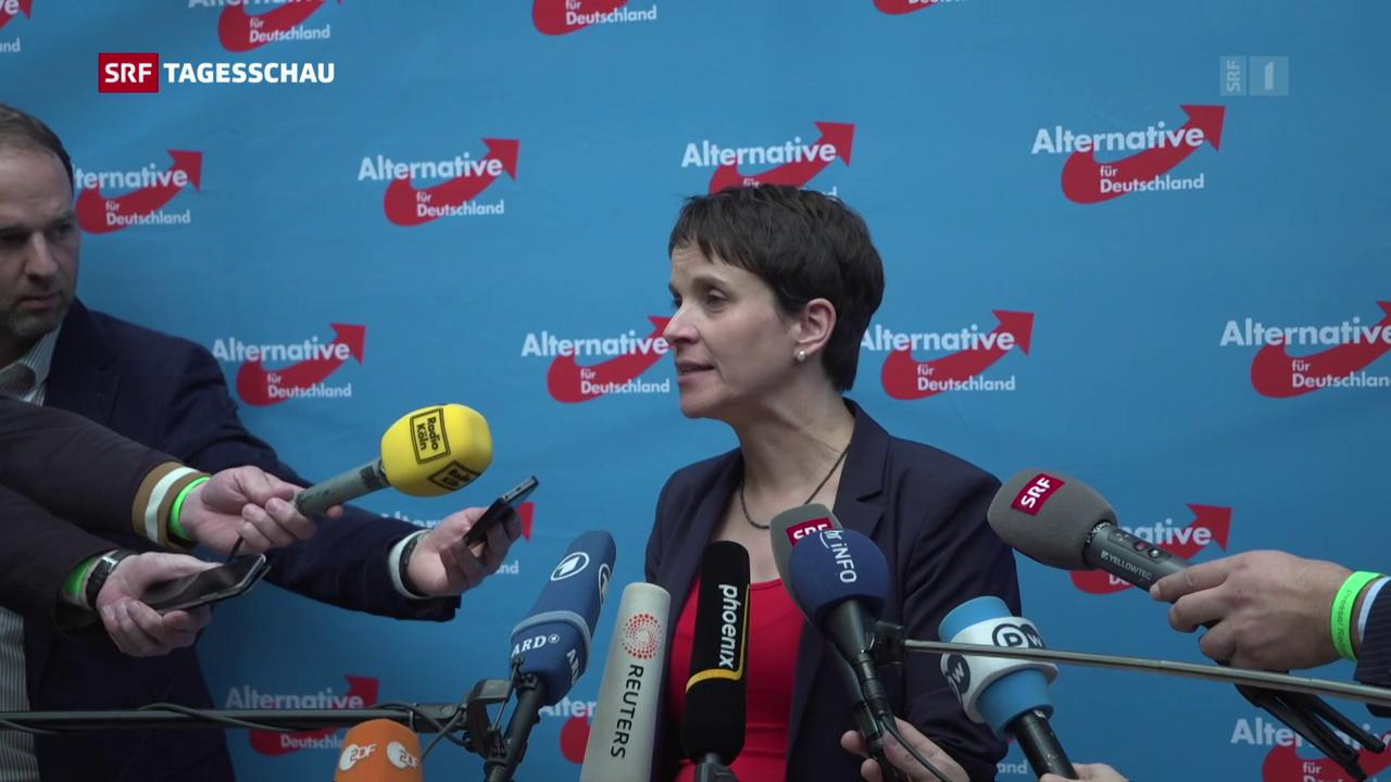 Richtungsstreit am AfD-Parteitag in Köln