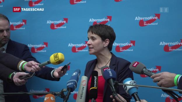Video «Richtungsstreit am AfD-Parteitag in Köln» abspielen