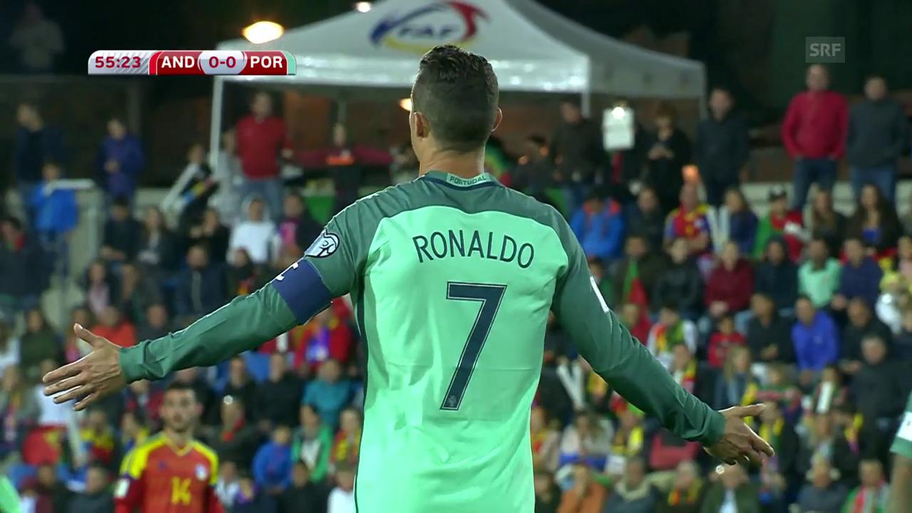 Einwechselspieler Ronaldo führt Portugal zum Sieg