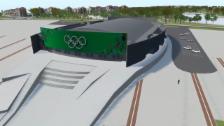 Video «OS Sotschi: Ice Cube Curling Center» abspielen