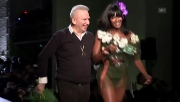 Video «Modeschau mit Fauxpas» abspielen