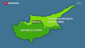 Video «Zypern vor möglicher Wiedervereinigung» abspielen