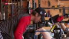 Video «Nico Hischier trainiert in Bern» abspielen