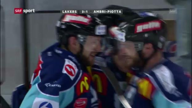 Video «Eishockey: Lakers-Ambri» abspielen