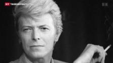 Video «David Bowie erliegt Krebsleiden» abspielen